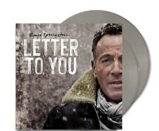 BRUCE SPRINGSTEEN - Letter To You (Color Variant Gray) (2020) 2 LP