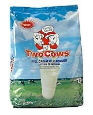 Two Cows Instant Full Cream Milk Powder (Sachet) - 900g