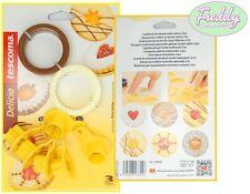 kit tagliabiscotti frollini tradizionali 8 pezzi tescoma pasticceria cake design