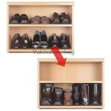 1 Pair Portable Stackable Shoe Rack Storage Closet Cabinet Smart Organizer