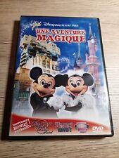 DVD DISNEYLAND RESORT PARIS : UNE AVENTURE MAGIQUE  ( WALT DISNEY )