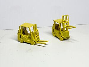 N Gauge N Scale Gas powered Forklift truck Twin pack