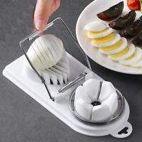 Stainless Steel Boiled Egg Slicer Cutter Mushroom Tomato Kitchen Chopper Tools