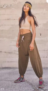 NWT Free People Movement  Light As A Feather Slouchy Harrem Pants. XS