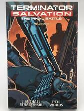 Terminator Salvation The Final Battle Volume 1 J. Michael Straczynski
