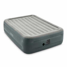 Intex Dura-Beam Plus Essential Rest Inflatable Bed Air Mattress, Queen (Used)