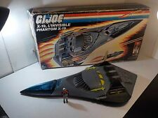 Vintage GI Joe 1988 X-19 PHANTOM Foreign tri language 100% Complete w Box 3 FC!