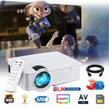 Full HD1080P 7000 Lumens LCD LED Projector Home Theater TV Home USB HDMI AV VGA