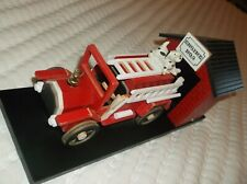Berkeley Designs Fire Station Engine No. 9 Wooden Animated Music Box