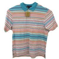 NWT $85 Mens DANIEL CREMIEUX TAHITI Collection GOLF Polo Shirt Sz Large