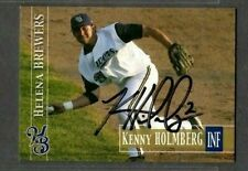 2005 Kenny Holmberg Helena Brewers Baseball Card Signed Autograph (B53)