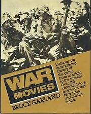 War Movies : The Complete Viewer's Guide by Brock Garland (1987, Hardcover)