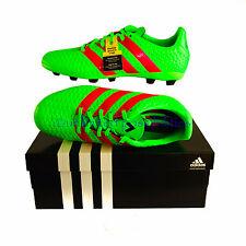 ADDIDAS ACE 16.4 FxG J Football Soccer Boys Shoes Sz 5 US  4.5 UK SGreen New Box