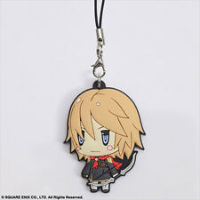 Final Fantasy Type-0 Trey Rubber Phone Strap Licensed NEW