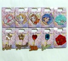 Disney Store Japan Girly Pin Complete 10 Set Ariel Belle Rapunzel Jasmine JDS