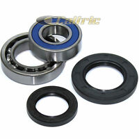 Rear Wheel Ball Bearings Seals Kit for Yamaha Big Bear 350 YFM350 4WD 1996-1999