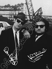 The BLUES BROTHERS - BELUSHI AYKROYD print signed photo foto autografo stampato