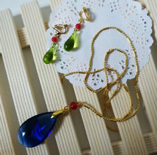 Howl's Moving Castle Cosplay Necklace & Earring Beautiful Handmad Gift