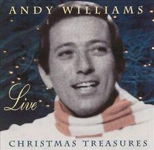 Andy Williams - Live: Christmas Treasures CD.