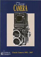 Classic Camera N.61 Febbraio 2007 rivista in italiano collezionismo fotografico