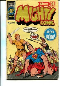 MIGHTY COMIC #111 GIANT AUSTRALIAN PRINT (MURRY PUBLISHING)