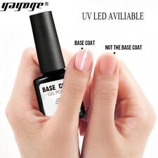YAYOGE Nail Art Natural Base Coat Bonder UV Gel Polish Soak Off Varnish 10ML