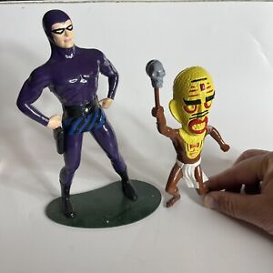Vintage 1965 The Phantom & Voodoo Witch Doctor Model Kit By Revell