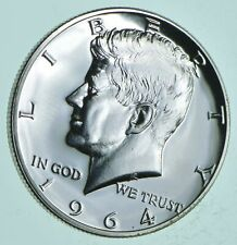 PROOF - 1964 Kennedy Half Dollar 90% Silver - Stunning Mirrors *088
