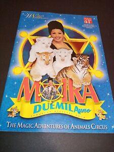 MOIRA ORFEI 2001 Italia program book CIRCUS CYRK CIRCO ZIRKUS CIRQUE
