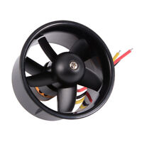 64mm Duct Fan with 4500KV Brushless Outrunner Motor for EDF Jet AirPlane RC379