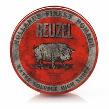 Reuzel Red Pig Pomade Water Soluble High Sheen 113g X 4