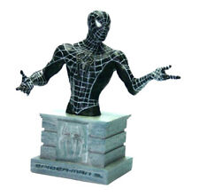 MARVEL Comics Spiderman 3 BLACK VENOM Costume Alieno Statua Figura Busto Monogram