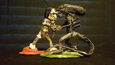 Alien vs Predator Toy Figure Handmade Art One of a Kind Pieces Paper Craft