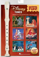 Disney Tunes Recorder Fun Pack with Songbook and Instrument Recorder 000171169