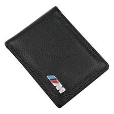 BMW M Sport Leather Wallet Coin Purse Holder Msport Mens Accessory New