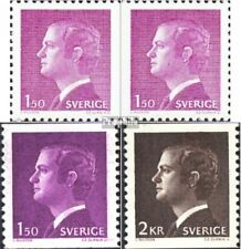 Sweden 1113A,Dl,Dr,1114 (complete issue) unmounted mint / never hinged 1980 Carl