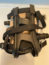 "New Wellgo M-21 MTB Road Bike Pedals Bicycle City Fixie Cycle Alloy 9/16"" Black"