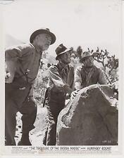 HUMPHREY BOGART / TIM HOLT (US-Pressefoto '49) - in DER SCHATZ DER SIERRA MADRE