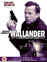 WALLANDER COLLECTED FILMS 8-13 DVD Box Set Krister Henriksson UK Release New R2