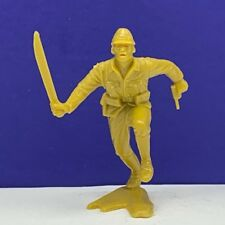 Marx toy soldier Japanese vintage ww2 wwii Pacific 1963 gold figure machete us 4
