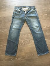 Levis 501 Faded Mens Jeans W34 L32