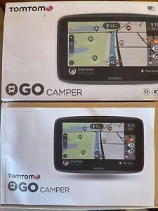 TomTom Camping Navigationsgerät GO Camper für Wohnmobile und Wohnwagen