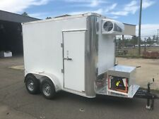 New Refrigerator Freezer Cooler Mobile Trailer For Meat Florist Produce