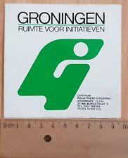 Sticker / Autocollante / Aufkleber / Decal Groningen ruimte voor iniatieven