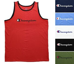 Champion Men's Swim Tank Top Big & Tall Shirt Authentic Sports Athleticwear