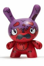 Kidrobot Scared Silly Dunny Series By The Bots Figure - G.M.D. Variant Purple