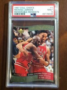 "1997 ""Memorable Moments"" — Michael Jordan — 12th Year — MINT PSA 9 — pop 65 ALL"