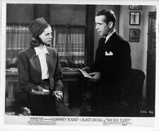 The Big Sleep 8x10 photo on fiber paper Lauren Bacall Humphrey Bogart in office