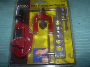 TUBE FLARING  SET AND PIPE CUTTER  FOR 45 DEGREE FLARES