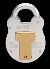 Squire 440 51mm old english padlock 4 lever lock gate / shed all Weather NEW